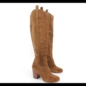 Via Spiga Babe Tall Knee High Suede Boots
